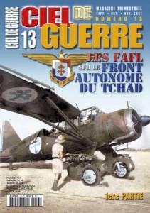 Ciel de Guerre n°13: Les FAFL sur le front autonome du Tchad