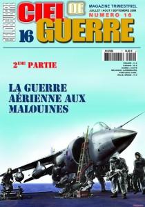 Ciel de Guerre n°16: La guerre aérienne aux Malouines