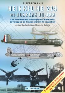 Heinkel He 274 et Junkers Ju 488