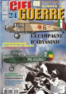 CIEL DE GUERRE n°24 : LA CAMPAGNE D'ABYSSINIE